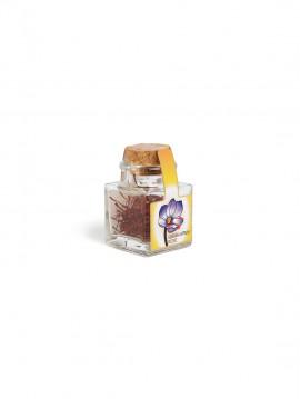 Azafrán hebra selecto tarro cristal corcho 2 gr.