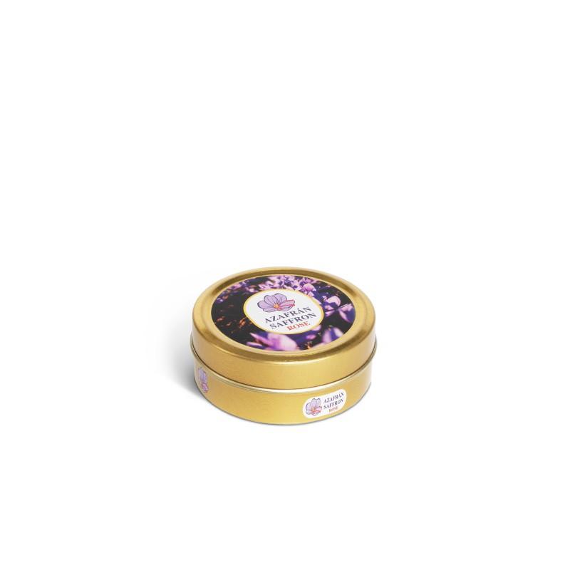 Selecto thread saffron. 4g metal tin