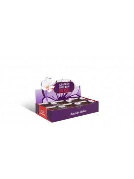 Selecto thread saffron . 12 boxes of 1g. Display box . Total 12g net